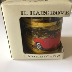 H.Hargrove Nostalgic Americana Collection Mug 12oz